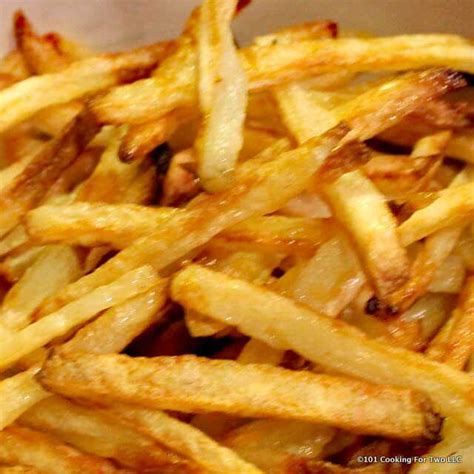 how to make crispy fries homemade baked french fries