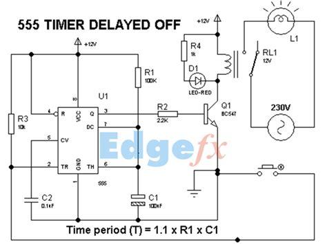 timer delay  circuit diagram