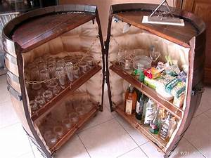 Fabriquer Un Bar : fabriquer bar dans tonneau ~ Carolinahurricanesstore.com Idées de Décoration