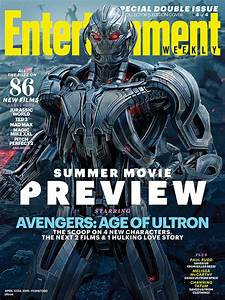 'Avengers: Age of Ultron' Cast Covers Entertainment Weekly