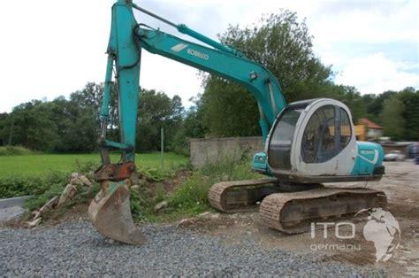 kobelco sk  hydraulic excavator