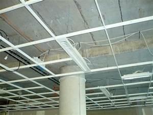 Installer Faux Plafond : faux plafonds r sille m tallique ~ Melissatoandfro.com Idées de Décoration