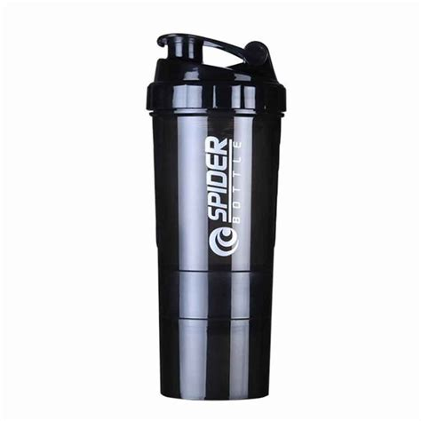 Hot 3 combination whey protein powder bottle for water