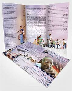 obituary pamphlet template - american life funeral program templates archives