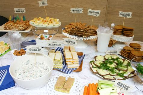 cuisine minute baby shower ideas