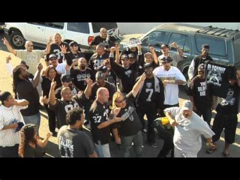chargers fans invade raider nation youtube