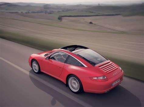 2007 Porsche 911 997 Targa 4 Rear Angle Top Speed
