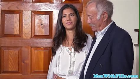 Young Latin Babe Pussyfucked On Grandpa Party Naughty
