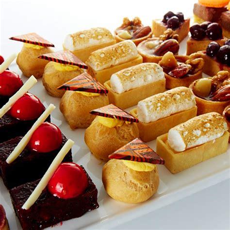 canape desserts dessert canapés devour it catering