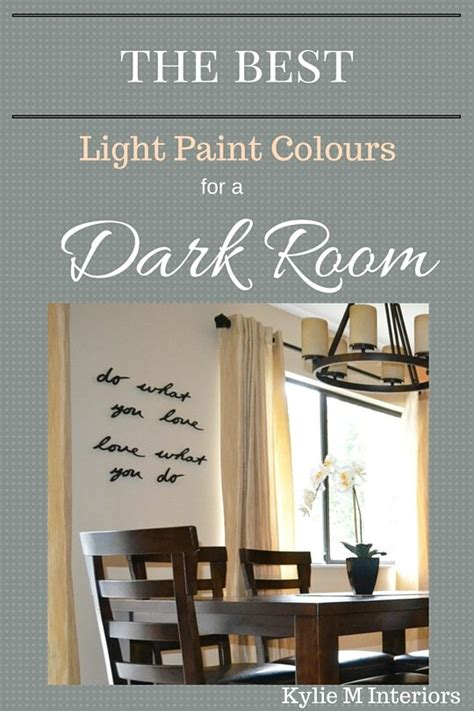 how to lighten a dark room with no natural light the best light paint colours for a dark room basement