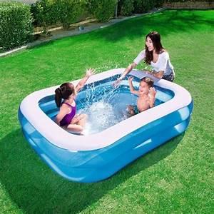Piscine Gonflable Avec Pompe : piscine gonflable achat vente piscine gonflable pas ~ Dailycaller-alerts.com Idées de Décoration