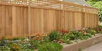 privacy fencing ideas Landscape Fence Ideas and Gates - Landscaping Network