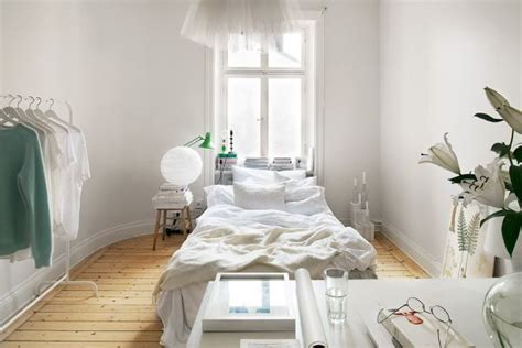 harmonious small bedroom apartment 10 small one room apartments featuring a scandinavian d 233 cor