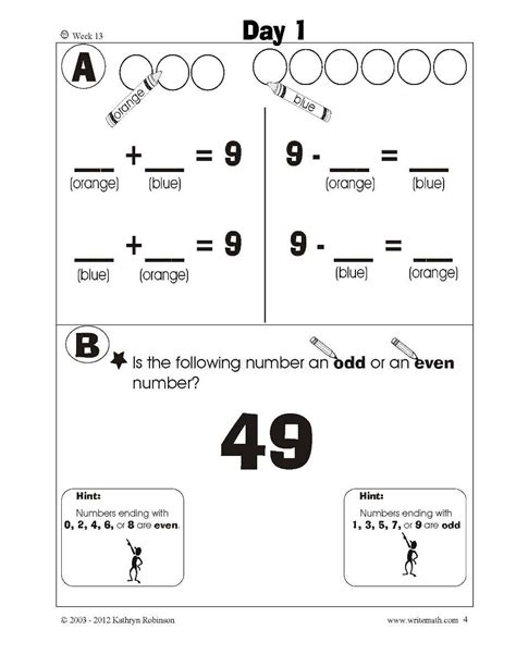 grade daily math worksheets common core st final