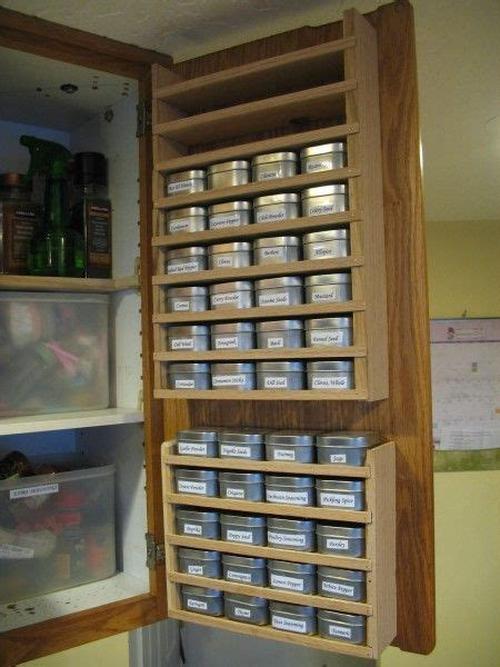 Inside Cupboard Spice Rack by 21 Best Spice Racks Hellpppp Images On