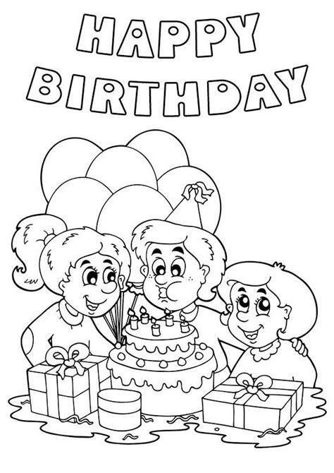 birthday  drawing  getdrawings