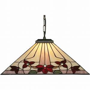 Oaks lighting camillo tiffany ceiling pendant