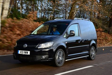 black volkswagen new vw caddy black edition van review auto express
