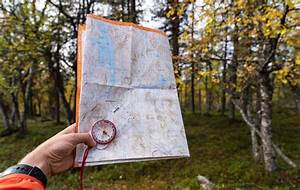 How To Use A Compass  Easy Step