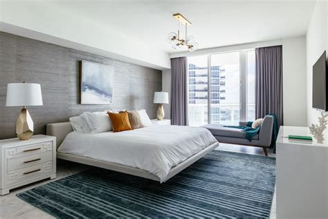 Bedroom Ideas For Condo by A Miami Luxury Condo With Waterfront Views D 233 Cor Aid
