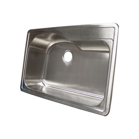 overmount stainless steel sink ticor s990 overmount 18 gauge stainless single bowl