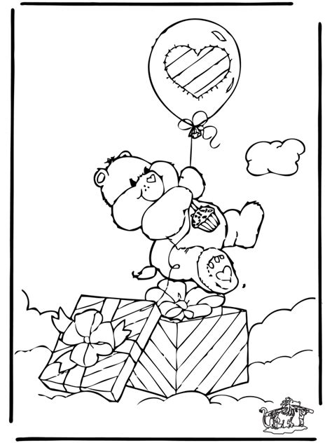 coloring pages  care bears  care bears