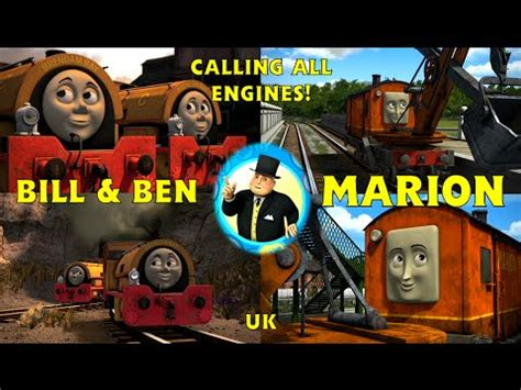 calling all engines bill ben and marion uk hd