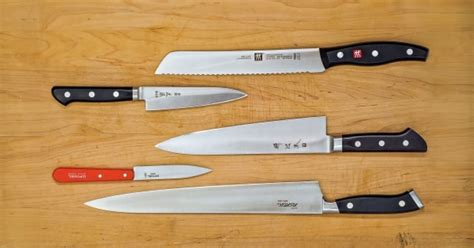 what are the best kitchen knives you can buy the only 5 kitchen knives you need s journal