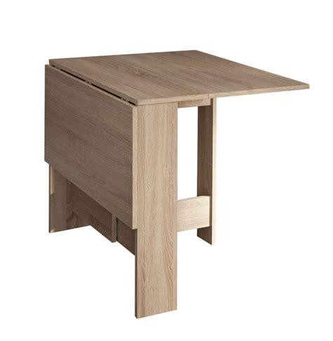 table de cuisine pliable curry table pliante 28 103 cm chêne naturel achat