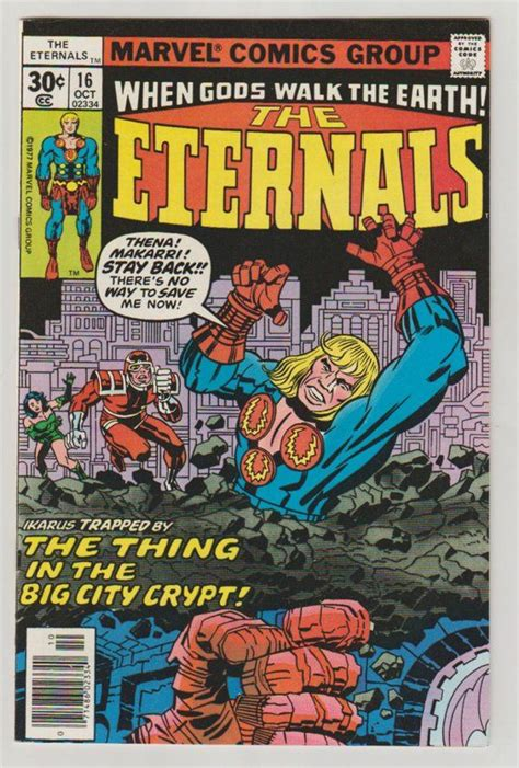 Eternals Vol 1 16 Bronze Age Comic Book. VF/NM 9.0. | Etsy ...