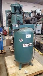 Fs Curtis Ca Brand  Vertical 80 Gallon Tank Air Compressor