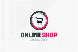 S Shop Online : online shop logo template logo templates creative market ~ Jslefanu.com Haus und Dekorationen