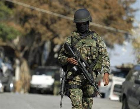 sedena soldado del ejercito mexicano mexican army
