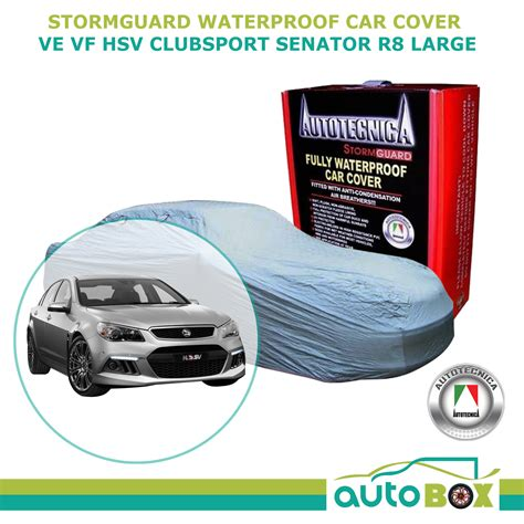 autotecnica stormguard waterproof car cover  holden
