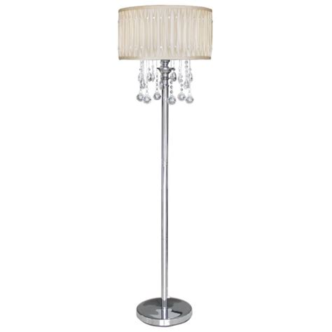 crystal floor standing l floor l shade with crystals archives home combo