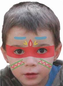 Modele Maquillage Carnaval Facile : maquillage enfant indien tuto maquillage enfant loisirs cr atifs ~ Melissatoandfro.com Idées de Décoration