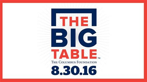 the table community foundation columbus foundation 39 s big table will facilitate