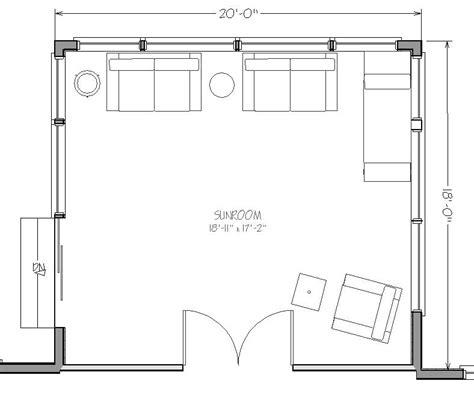sunroom floor plans premier four seasons sunroom addition 20 x 18