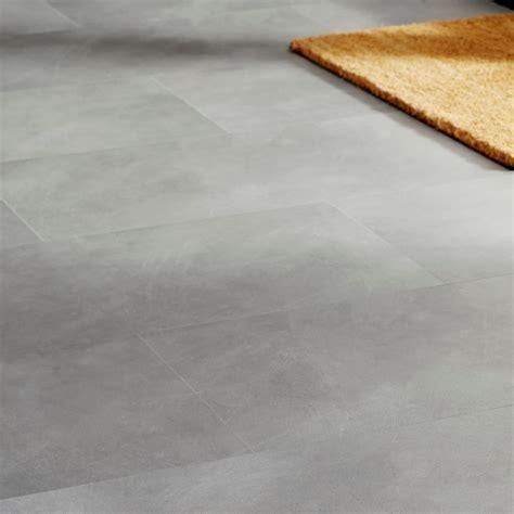 Colours Grey Stone effect Luxury vinyl click flooring 1.49