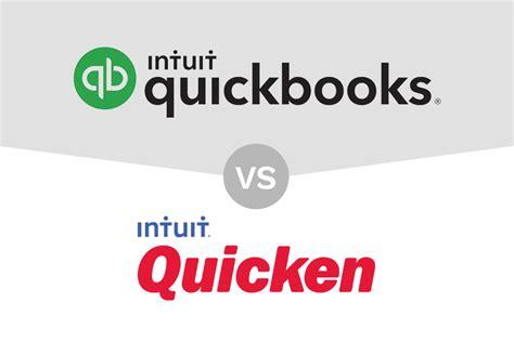 quicken  quickbooks price features whats