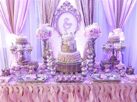 purple floral baby shower pictures   images