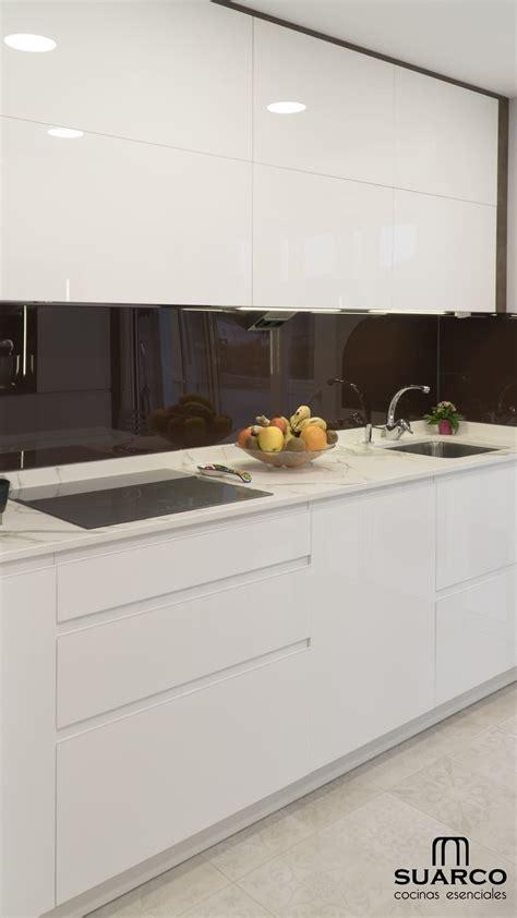 cocina blanca  maximo aprovechamiento cocinas suarco