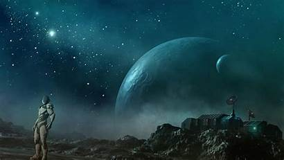 Machines Space Moons Robots Planets Outer