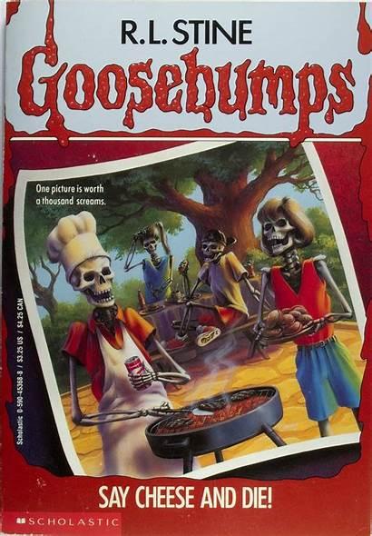 Goosebumps Covers Say Cheese Some Nostalgic Nostalgia