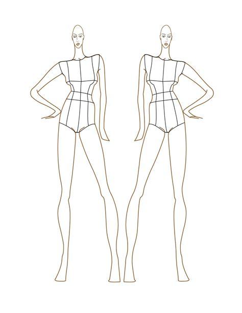 fashion design sketches fashion croquis templates