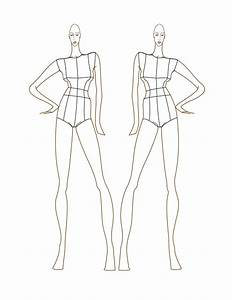 template for fashion design figures images With fashion designer drawing template
