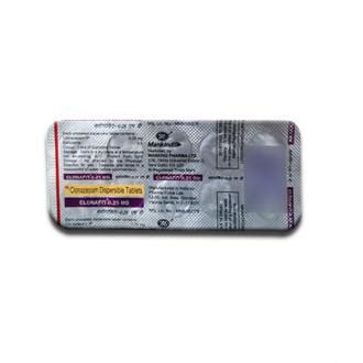 Clonafit MD 0.25 mg Tablet (10 Tab): Price, Overview ...