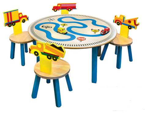 trucks table 4 chairs set contemporary tables and
