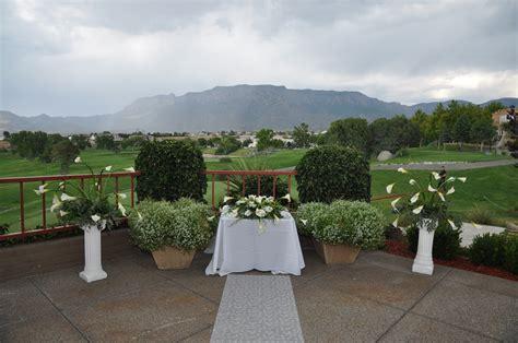 albuquerque wedding venues tanoan country club receptions