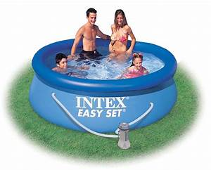 Easy Set Pools : 8ft x 30in intex easy set inflatable kids swimming pool with filter pump 56972 ebay ~ Eleganceandgraceweddings.com Haus und Dekorationen